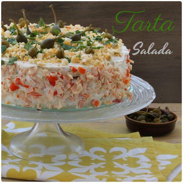 Tarta Salada Con Pan De Molde