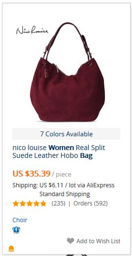 abcfc36595f5 Nico Louise Women Real Split Suede Leather Hobo Bag New Design Female  Leisure Large Shoulder Bags