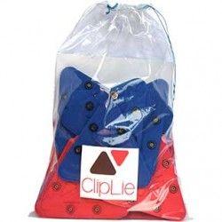 Pack de 18 Cliplie rouge et bleu- jeu de construction à clipper