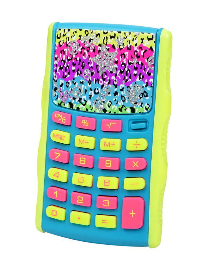 Leopard Calculator Journals Amp Supplies Fun Amp Gifts
