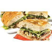 Sandwich au rôti de boeuf et au fromage à raclette