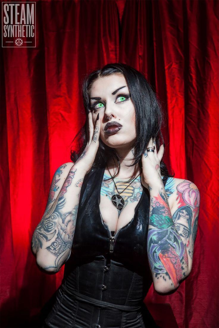 She Goth slut picture