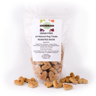 Roasted Duck Grain-Free All-Natural Dog Treats