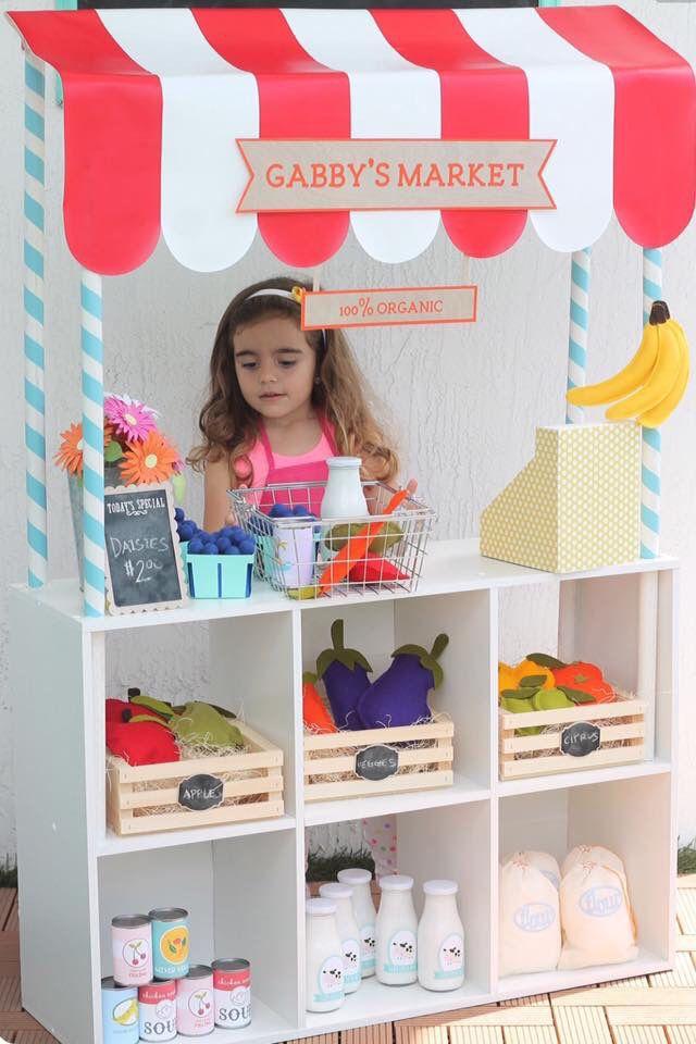 Make believe shop/ Lojinha para brincar