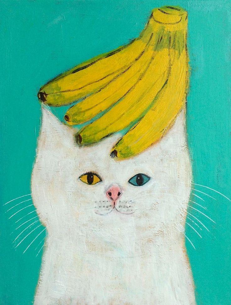 "Pepe Shimada ""Banana Cat"""