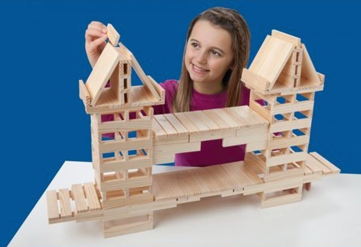 KEVAplanks - kinda real life Minecraft. Gets kids ingeniously constructing. Fun vid and story.