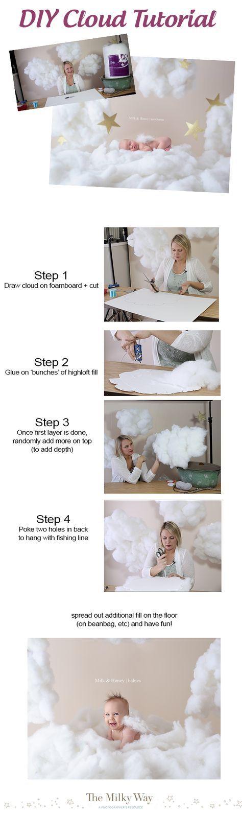 Fun DIY Cloud Tutorial (takes less than 20 minutes!) - themilkway.ca