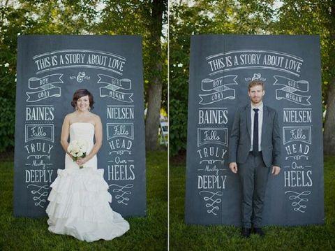 画像 : 海外から学ぶ♡黒板を使った結婚式の素敵なアイディア集 - NAVER まとめ
