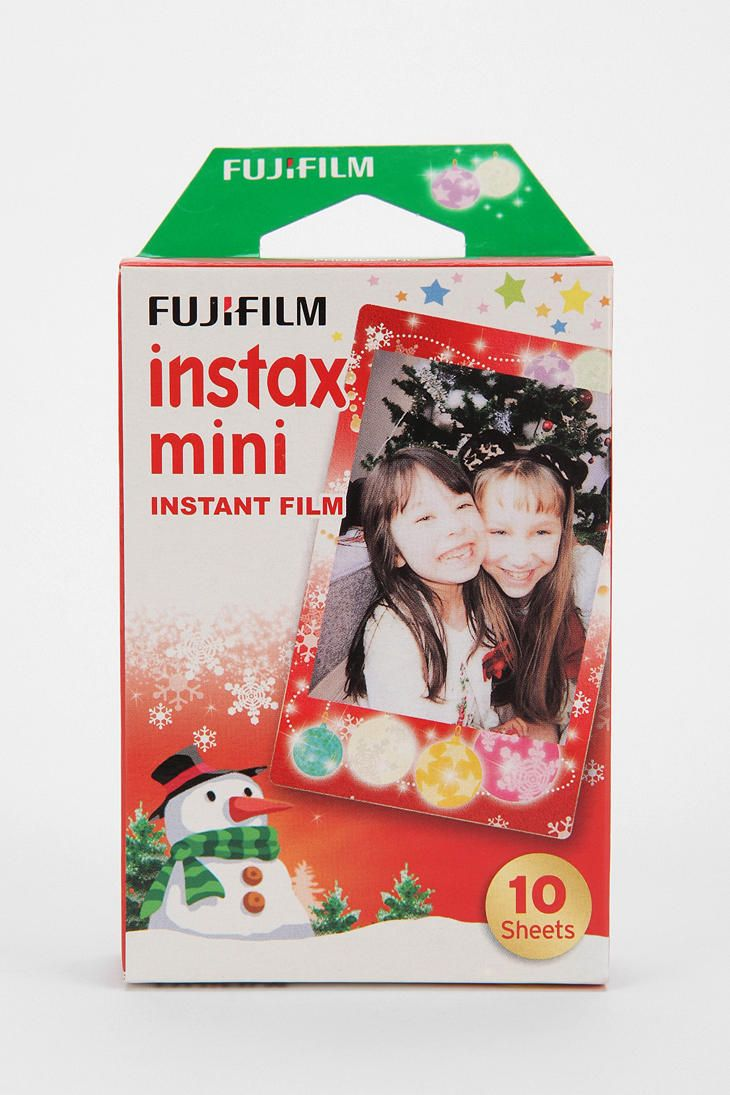 Fujifilm Instax Mini Holiday Frame Film - Pack Of 10 To go with the camera! adorable!