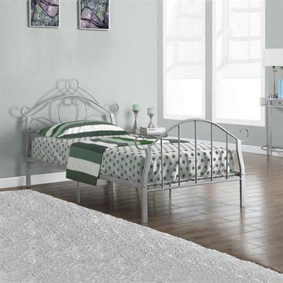 Monarch Specialties I 2392 Metal Twin Bed Frame
