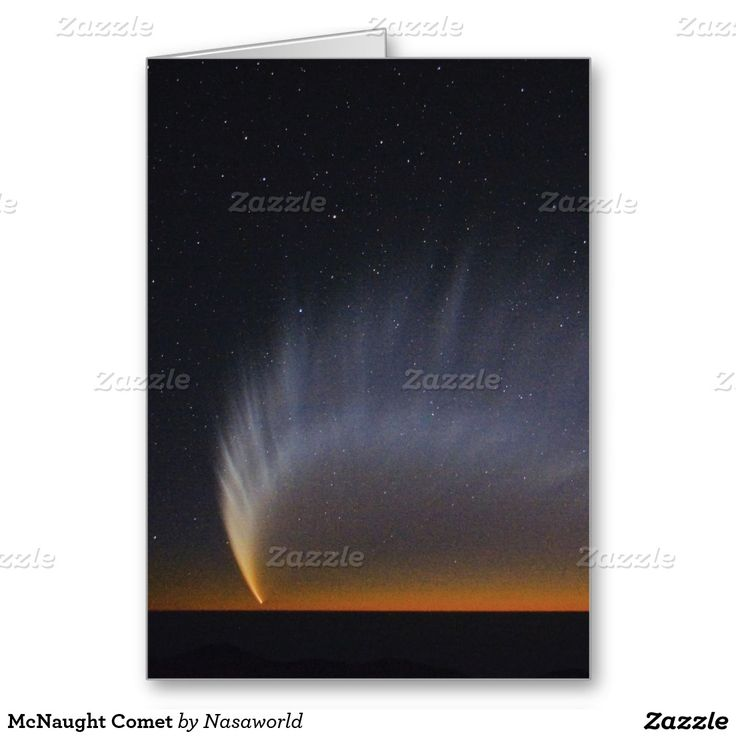 McNaught Comet Greeting Card