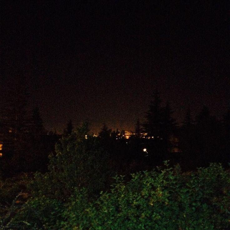 Bağda Gece... #Kayseri #Bağ #Gece #Night