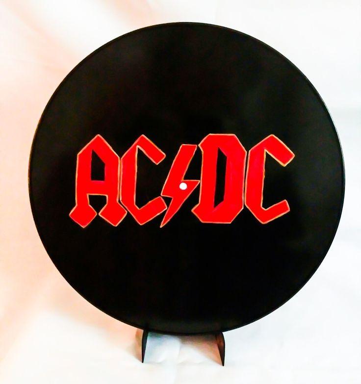 ACDC painting on vinyl