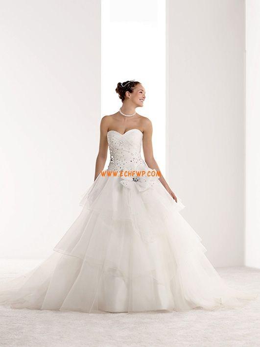 Fleurs Lacets Naturel Robes de mariée 2014