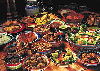 Africa cafe1 Africa-cafe. For more on African cuisine, pick up the book by ...