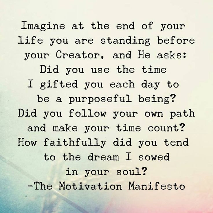 Imagine At The End Of Life. Great Ideas