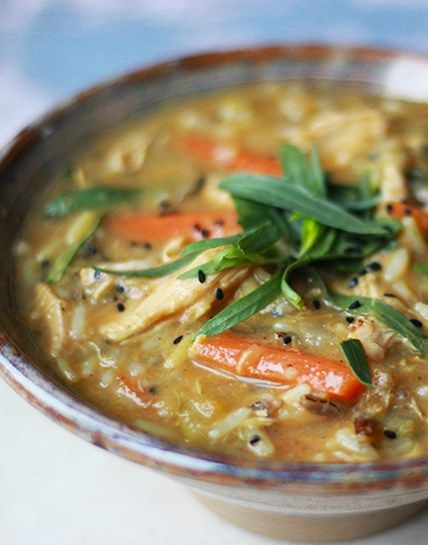 mulligatawny chicken wild rice- use arrowroot instead of flour