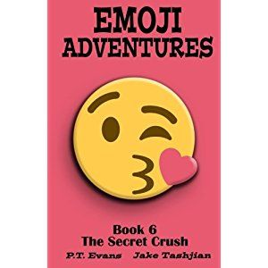 #BookReview of #EmojiAdventures from #ReadersFavorite - https://readersfavorite.com/book-review/emoji-adventures  Reviewed by Jack Magnus for Readers' Favorite  Emoji Adventures, Volume 6: The Secret Crush is a humorous story book for children, grades 4-6, written by P.T. Evans and illustrated by Jake Tashjian. Everyone was pretty excited about the upcoming science fair projects, and the fact that Mr. Hartman, their science teacher, would be assigning pairs of students to work as teams…
