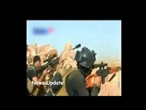 Isis Iraq -- Shooutout Between Forces IRAQ vs mujahiden ISIS | RAW VIDEO