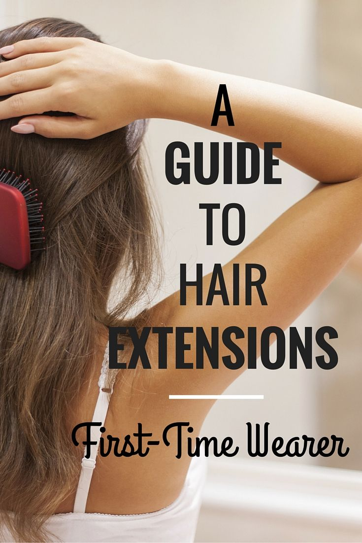 A simple guide to first-time hair extension wearers or those just wanting more information about hair extensions!