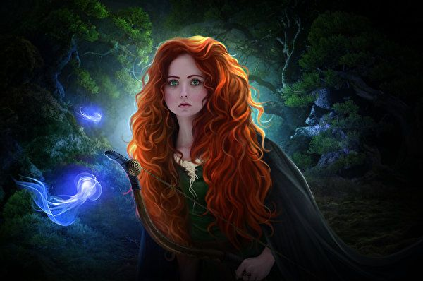 Archers_Brave_(2012_film)_art_Redhead_girl_Glance_520176_300x199.jpg (600×398)