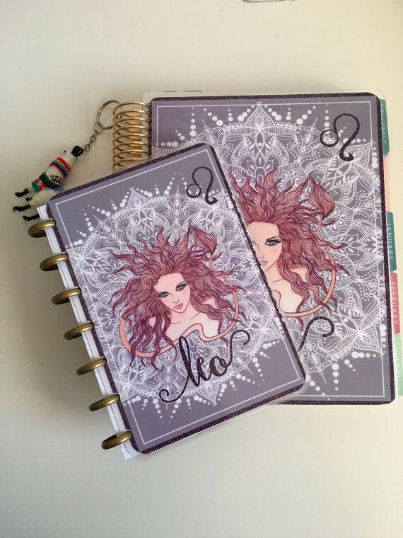 Astrological Star sign cover for Erin Condren Happy Planner