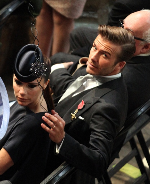 David Beckham's style.