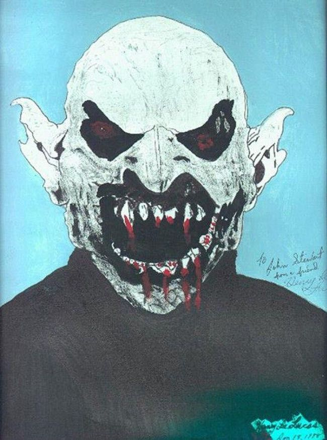 Henry Lee Lucas is listed (or ranked) 4 on the list 20 Extremely Creepy and Disturbing Artworks by Serial Killers