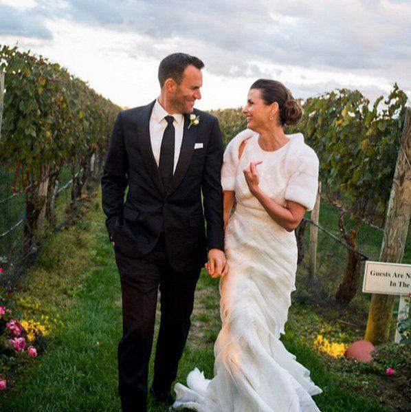 Prepare to Swoon Over Bridget Moynahan's Dreamy Wedding Dress