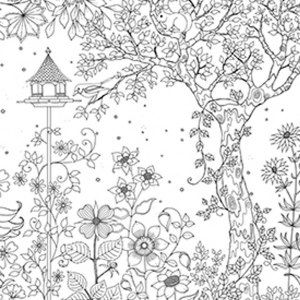 adult coloring pages outdoors - photo#31