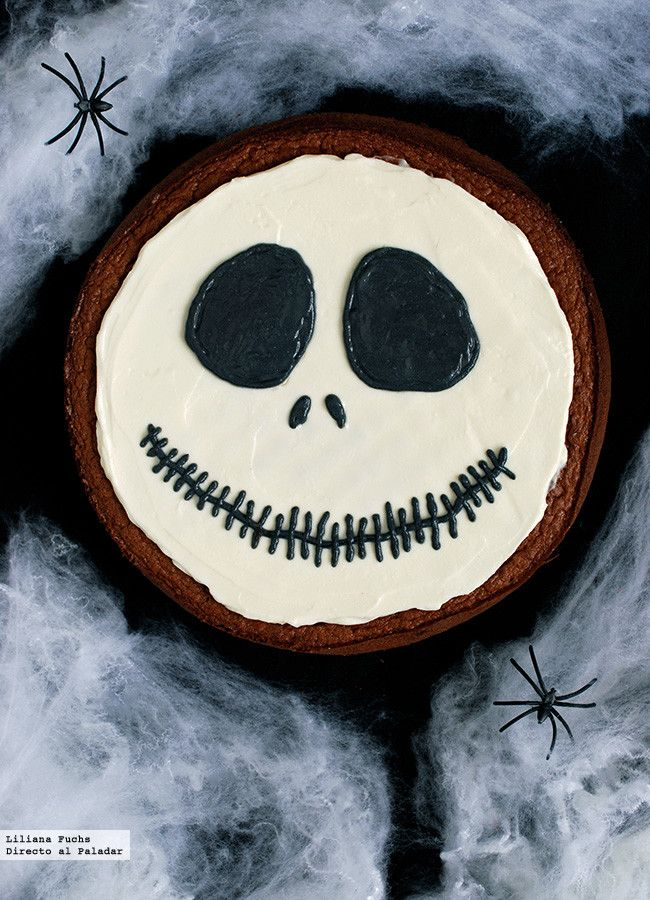 Tarta Skellington Halloween Jack, Halloween Cakes, Halloween 2020, Halloween Treats, Halloween Party, Jack Skellington Cake, Pasteles Halloween, Fall Crafts For Toddlers, Bakery Recipes