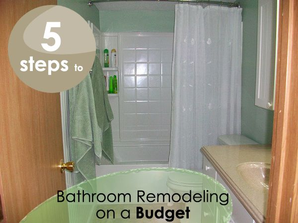 The steps to bathroom remodeling for the home pinterest for Steps to remodel bathroom