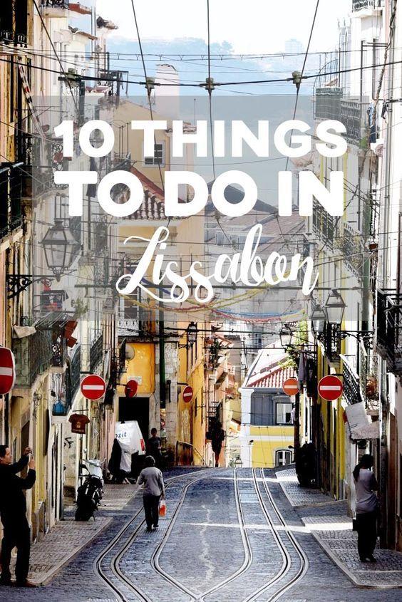 Ihr plant eine Reise nach Lissabon? Hier findet ihr alles für den perfekten Trip! #Lissabon #Portugal