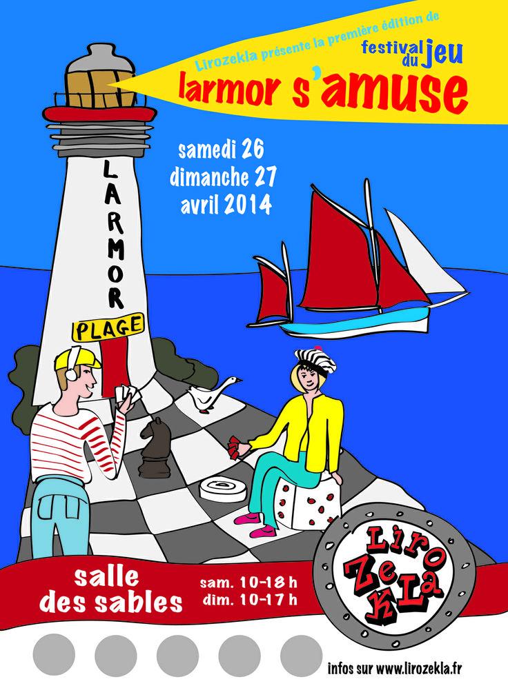 Festival du jeu Lamor Plage