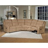 Found it at Wayfair - Reclining Sectional