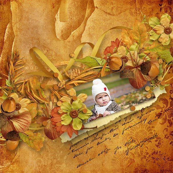 ScrapByMia: Au coeur de l'automne