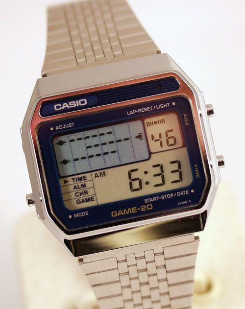 Casio Game-20 Game Watch