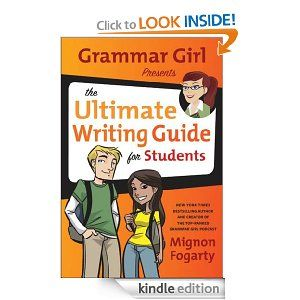 16 best great ebooks to learn english images on pinterest learn grammar girl presents the ultimate writing guide for students by mignon fogarty a guide to english language grammar covers the parts of speech sentences fandeluxe Image collections