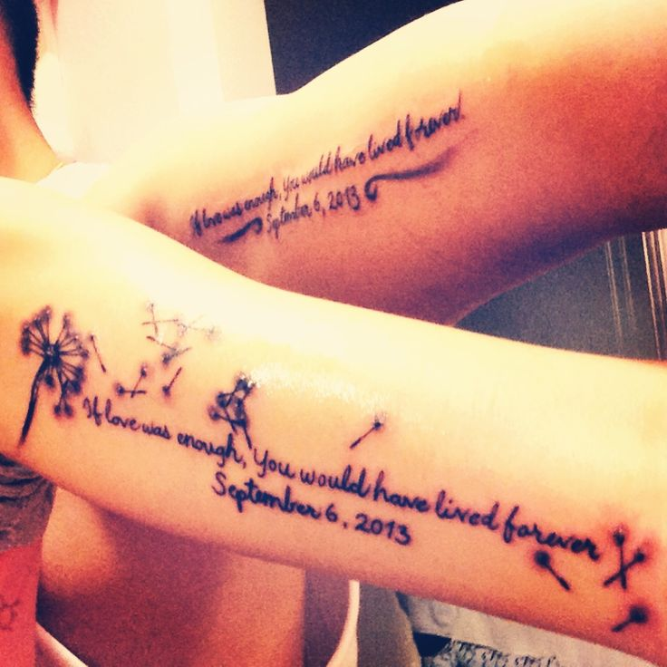 Tattoo Quotes Rip