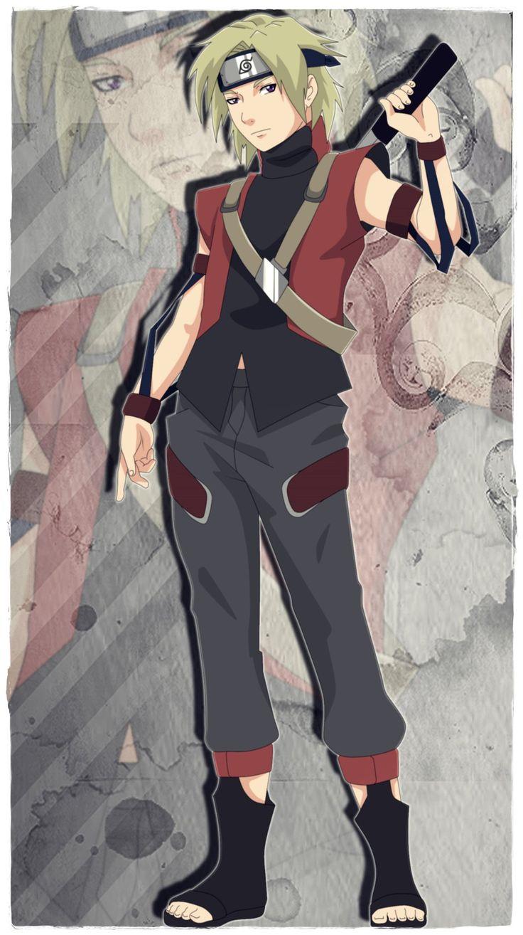 Naruto Oc Seiichi Toyo by YukiLilaPudel on deviantART