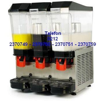 En kaliteli şerbet soğutma makinelerinin tek hazneli 2 hazneli 3 hazneli fışkırtmalı karıştırıcılı modellerinin en uygun fiyatlarıyla satış telefonu 0212 2370749