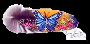 Feather Art....... Beautiful Butterfly