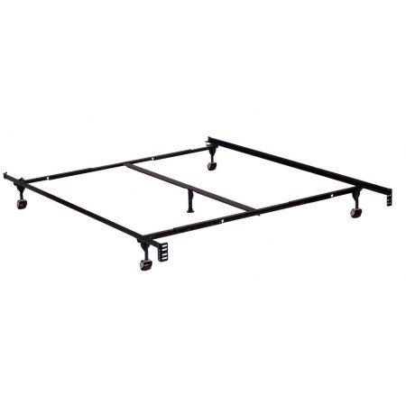 miBasics Metal Adjustable Bed Frame, Multiple Sizes