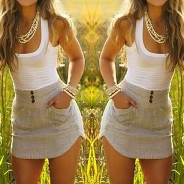 za mě by to chtělo jen trošku delší sukni :o)