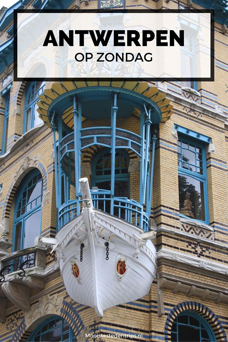 Antwerpen op zondag. Heb je zin in een weekendje weg en ben je benieuwd wat je op zondag in Antwerpen kunt doen? Bekijk alle tips | Mooistestedentrips.nl