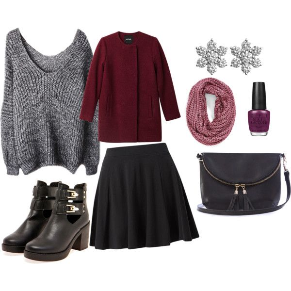 """Burgundy morning"" by autumnswind on Polyvore"
