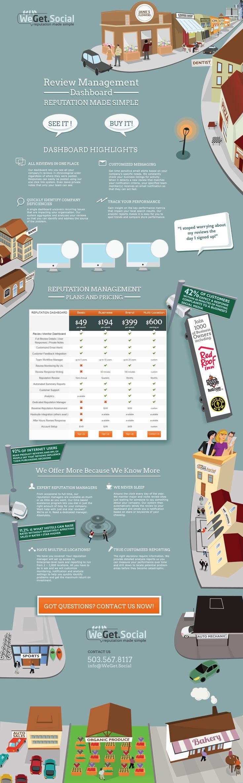 illustrated webdesign for Wegetsocial