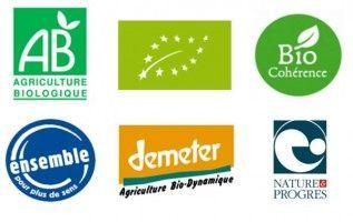 Les labels de l'agriculture biologique. Nous importons plus de la moitié des fruits et légumes bio consommés en France, car la production nationale est encore insuffisante...LIRE SUR http://www.natura-sciences.com/agriculture/agriculture-biologique/bio-industriel-supermarches.html