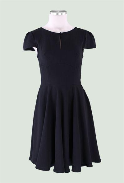 Rococo Dress in Noir