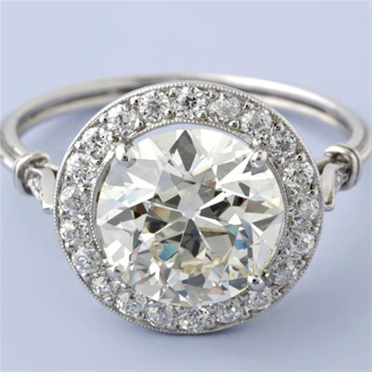Art Deco Inspired Engagement Rings